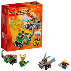 LEGO Thor vs Loki
