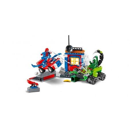 LEGO Spiderman vs Escorpion