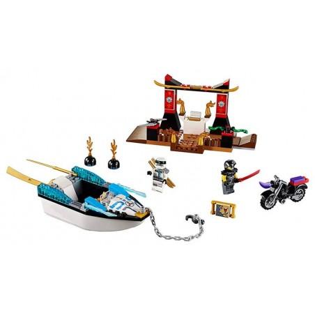 LEGO Persecución en la Lancha Ninja de Zane