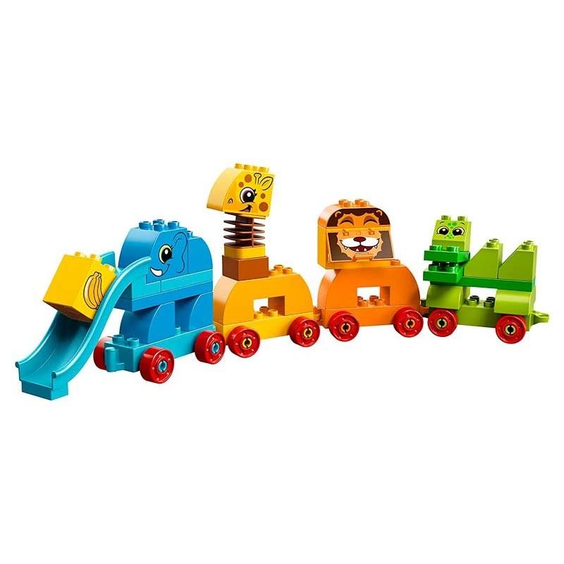 LEGO DUPLO Caja de Ladrillos y Mis Primeros Animales