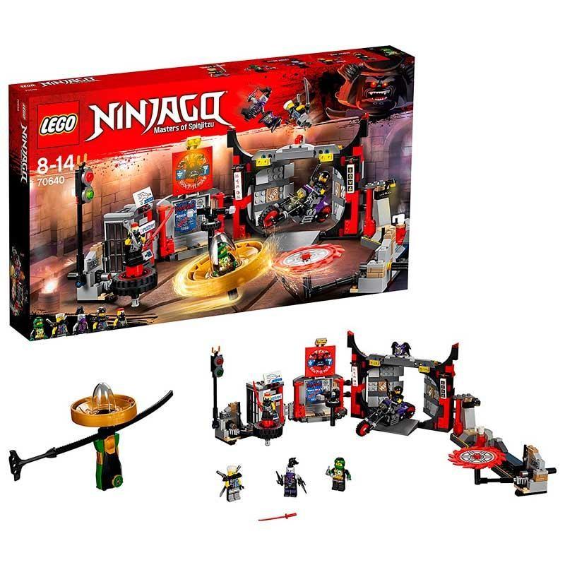 LEGO Ninjago Cuartel General de H.D.G.