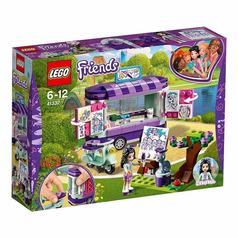 Lego Friends Puesto de Arte de Emma