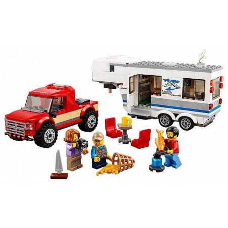Lego City Camioneta y Caravana