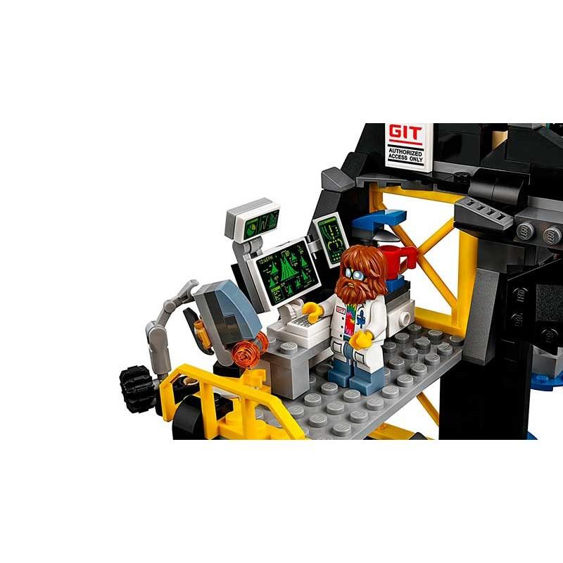 LEGO Ninjago Guarida Volcánica de Garmadon