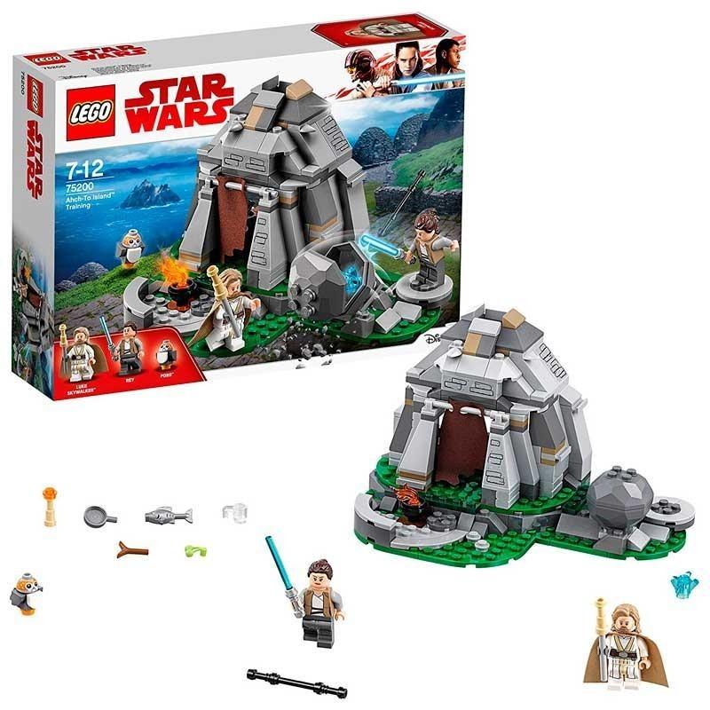 LEGO Star Wars Entrenamiento en Ahch-To Island