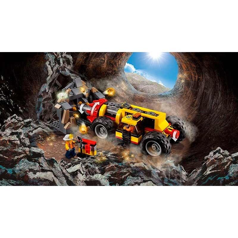LEGO City Perforadora en la Mina