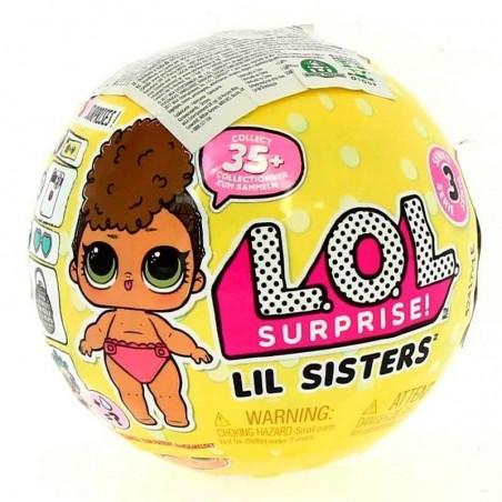 LOL Muñeca Sorpresa Lil Sisters Serie 3