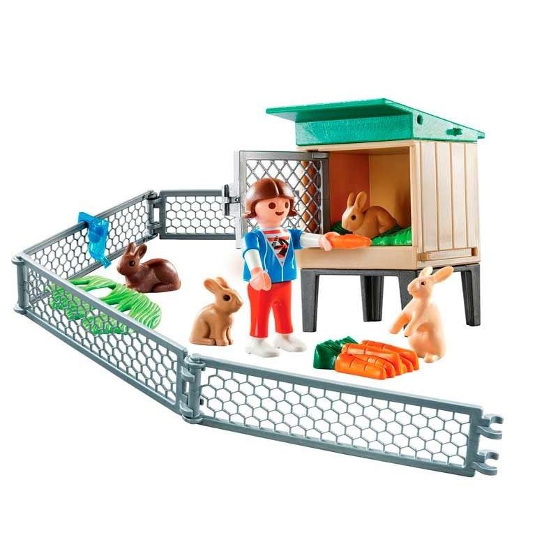 Playmobil Country Maletín Conejos