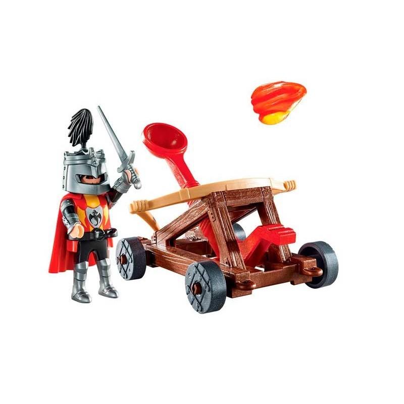 Playmobil Knights Maletín Catapulta de Caballero