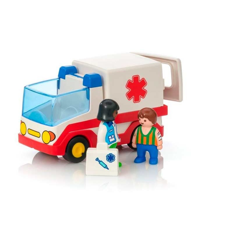 Playmobil 1.2.3 Ambulancia