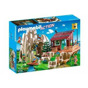 Playmobil Action Escaladores con Refugio