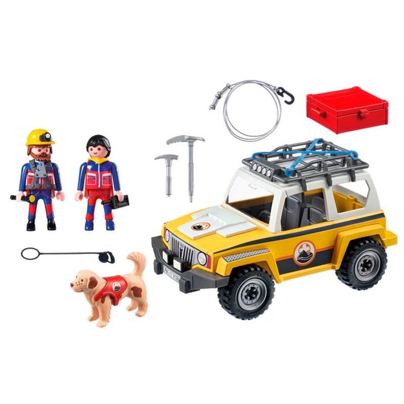 Playmobil Action Vehículo de Rescate de Montaña