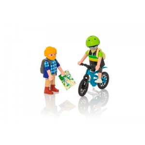 Playmobil Action Ciclista y Excursionista