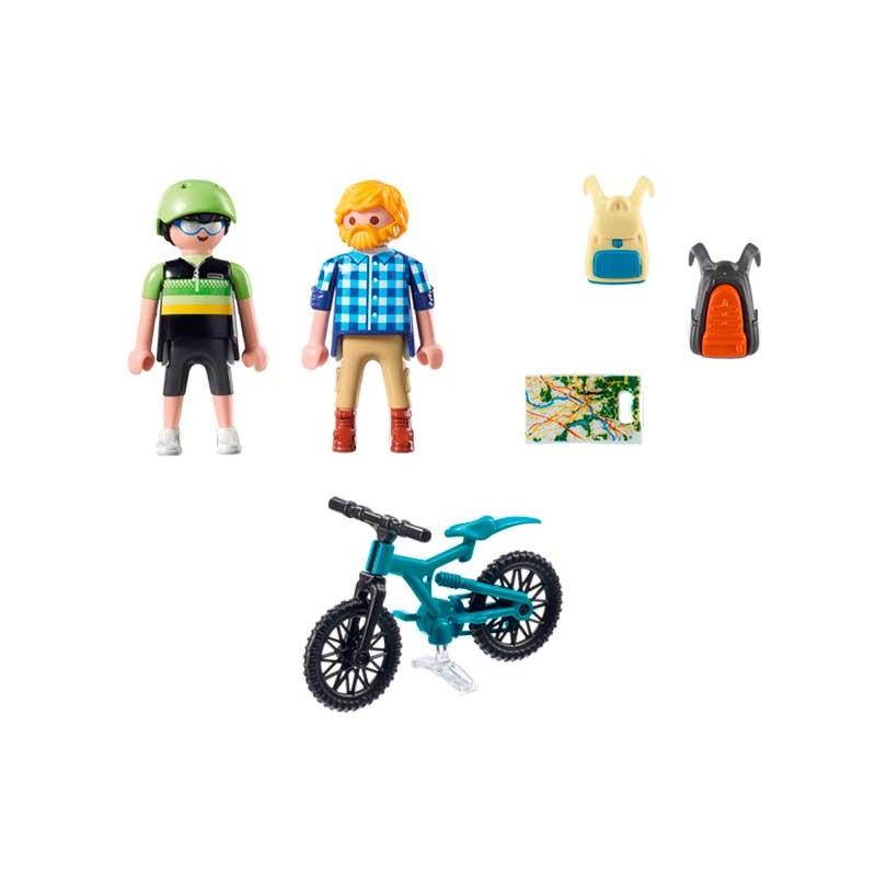 Playmobil Action Ciclista y Excursionista