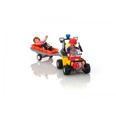 Playmobil Action Quad de Rescate de Montaña