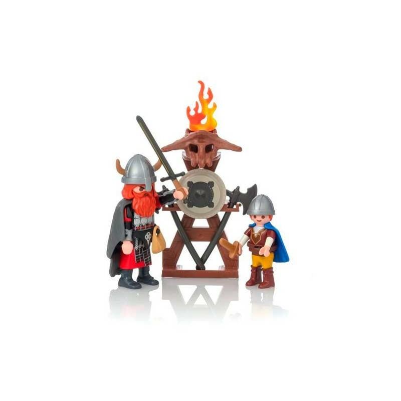 Playmobil Vikingos con Escudo