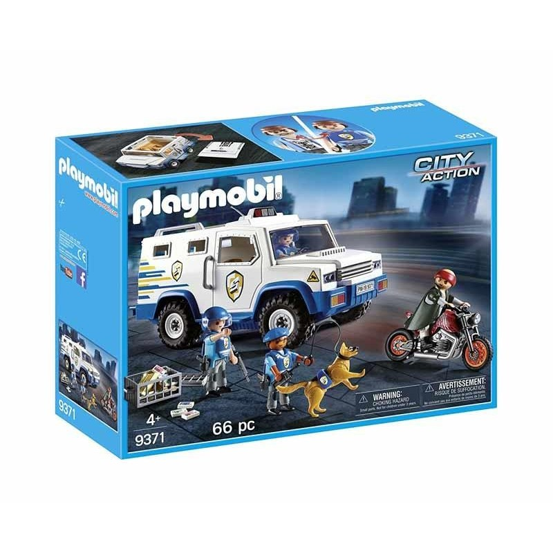 Playmobil City Action Vehículo Blindado