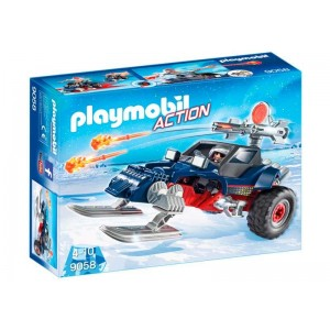 Playmobil Action Racer con Pirata del Hielo