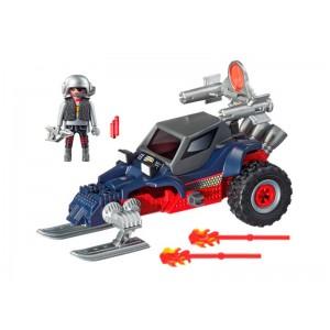 Playmobil Action Racer con Pirata del Hielo