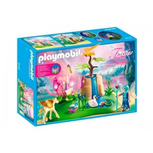 Playmobil Fairies Lago con Hadas Bebé