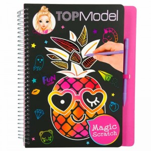 Top Model Cuaderno Magic Scratch