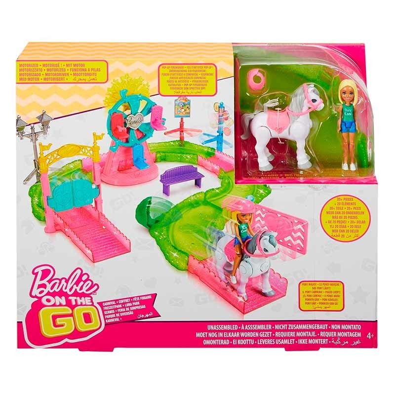 Barbie On The Go Parque de Atracciones