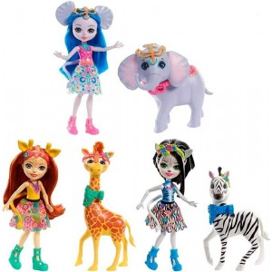 Enchantimals Muñeca con Animales