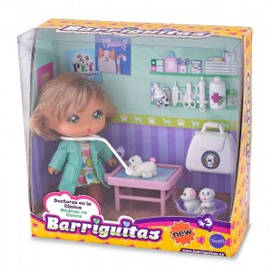 Barriguitas Doctora y Veterinaria