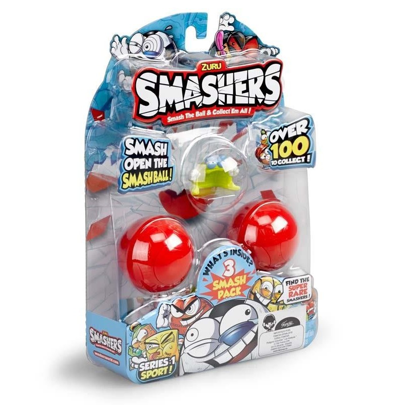Smashers Pack 3 Figuras