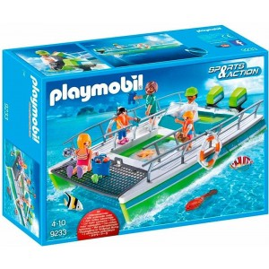 Playmobil Sports Action Barco Vistas Fondo Marino