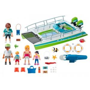 Playmobil Sports Action Barco Vistas Fondo Marino