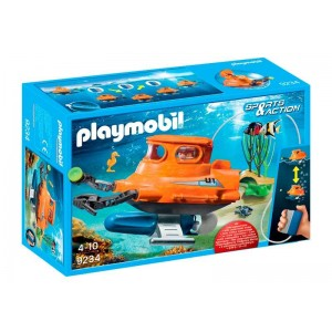 Playmobil Sports Action Submarino con Motor