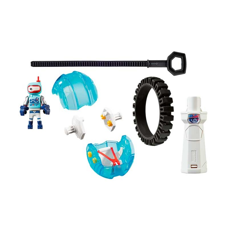 Playmobil Sports Action Speed Roller Azul