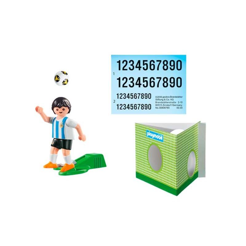 Playmobil Jugador de Fútbol Argentina