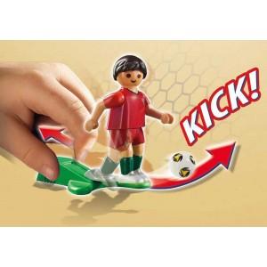 Playmobil Jugador de Fútbol Portugal