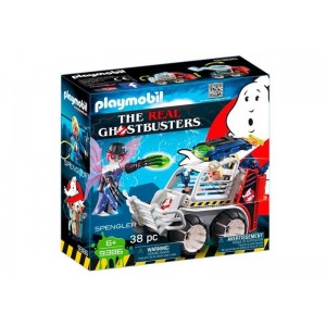 Playmobil Ghostbusters Spengler con Coche