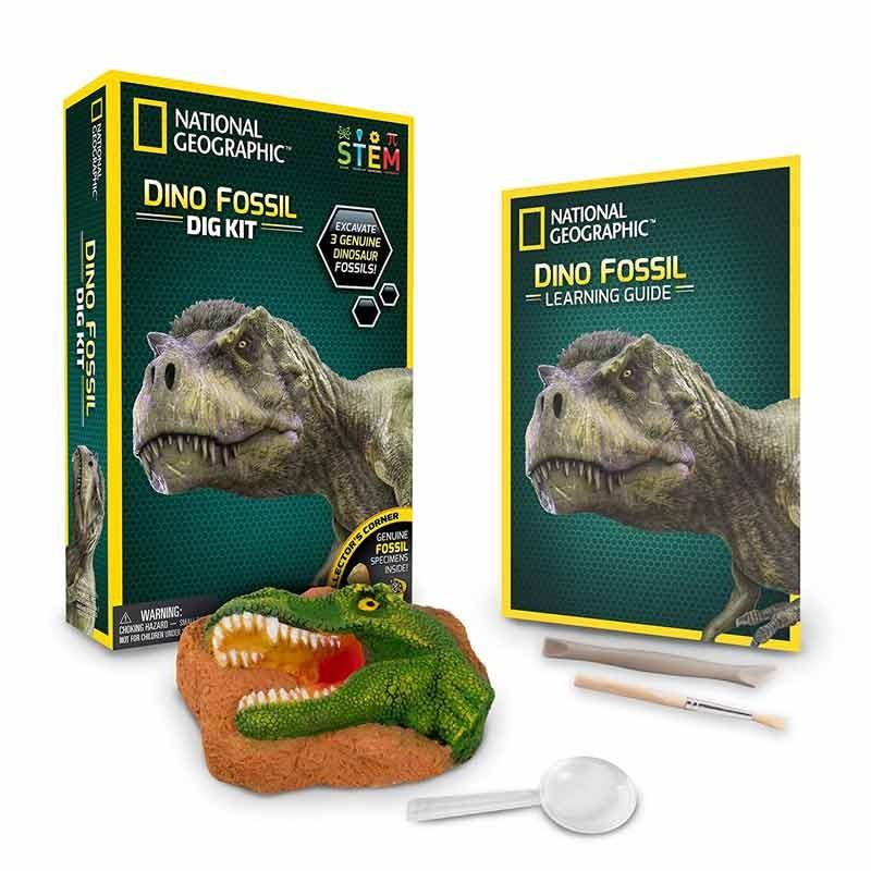 National Geographic Juego Excava Fósil Dinosaurio