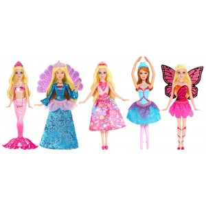 Barbie Surtido Mini Muñecas Dreamtopia