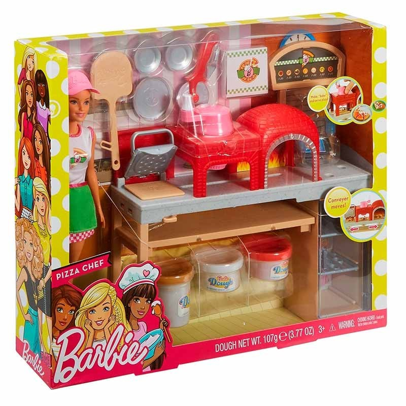 Barbie Pizza Chef