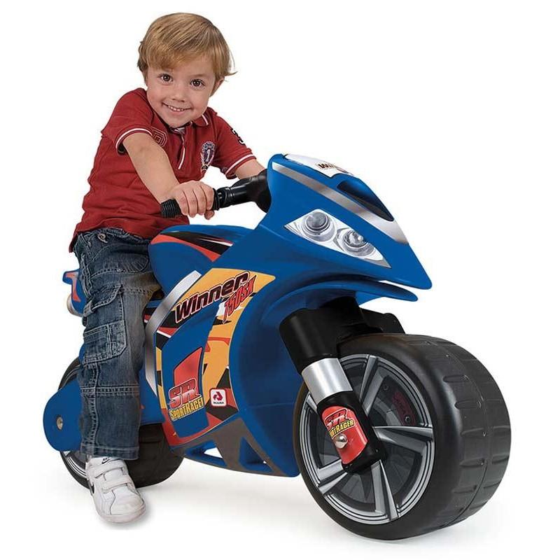 Moto Correpasillos Winner Azul