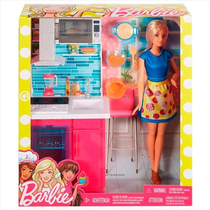 Barbie Set de Mobiliario