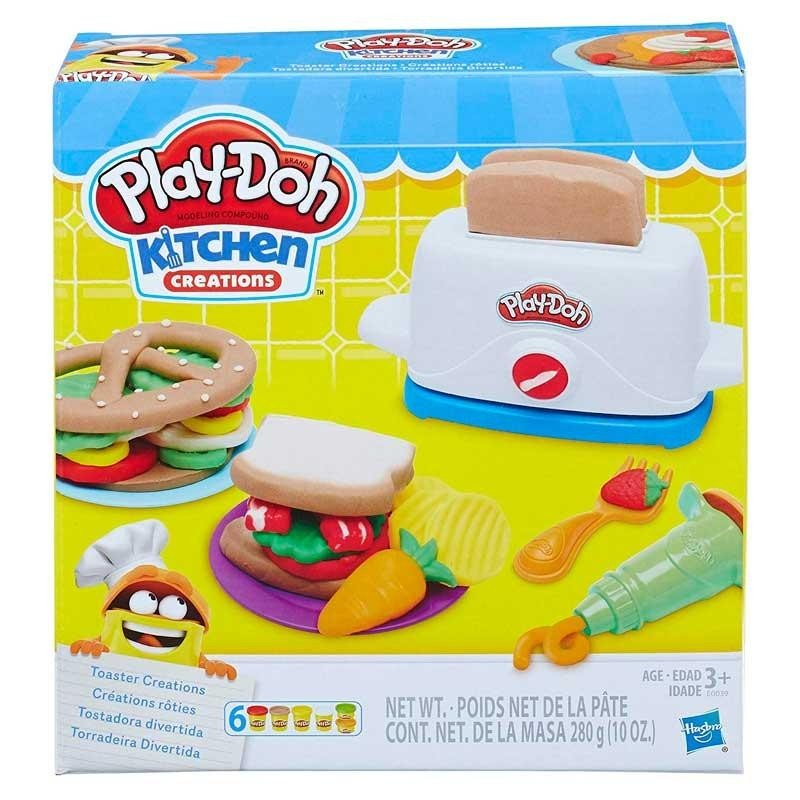 Play-Doh Tostadora Divertida