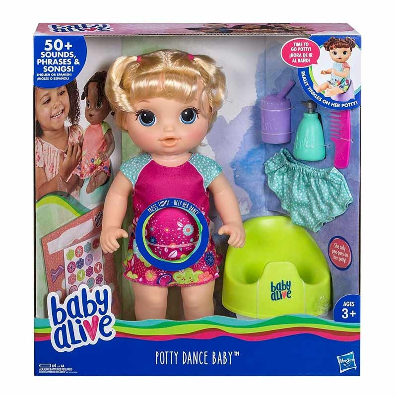 Baby Alive Rubia Aprendo a Hacer Pipi