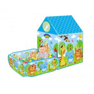 Tienda Infantil con Caja y Bolas