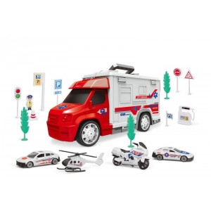 Set Coches de Ambulancia y Parking