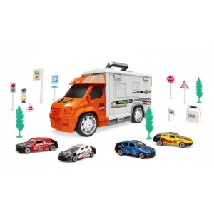 Set Coches de Carreras y Parking