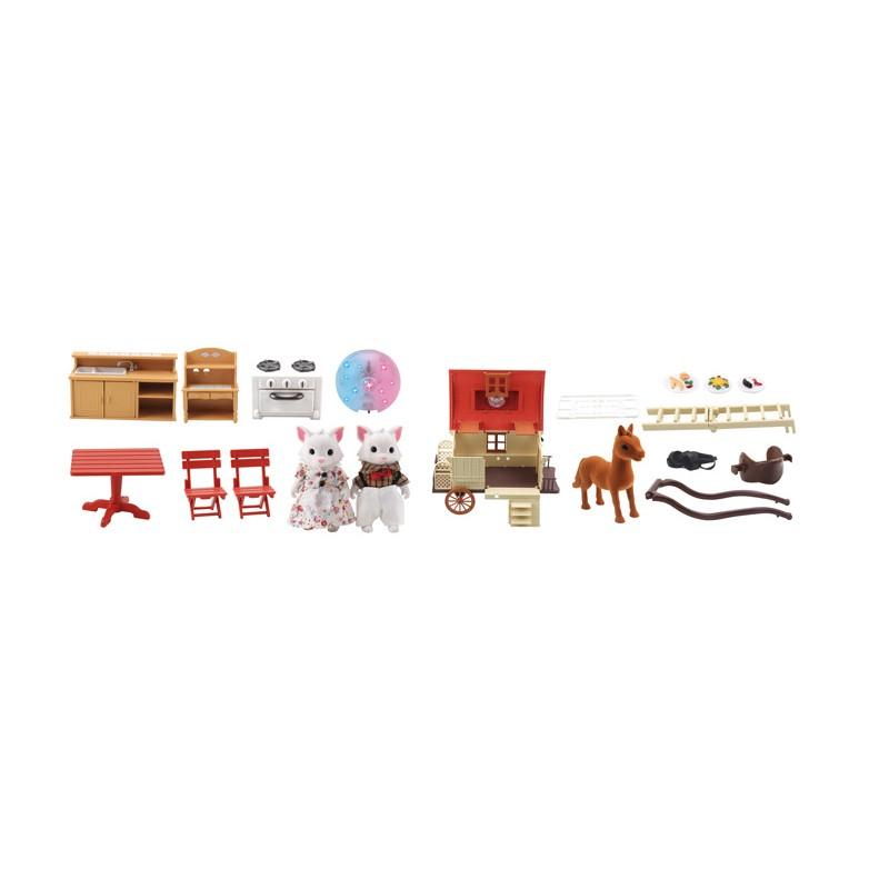 Casa Carruaje para Mini Figuras