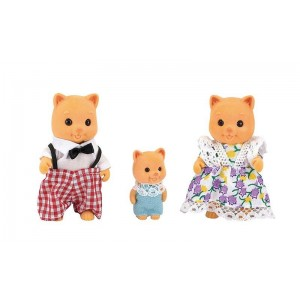Familia de Ositos Mini Figuras