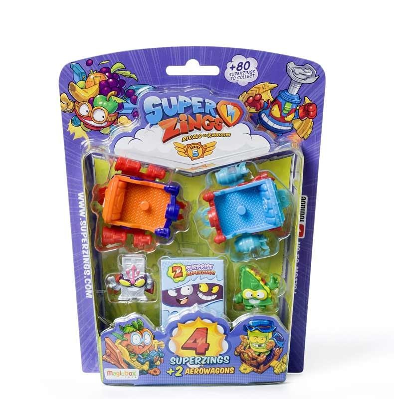Superzings Serie 5 Blíster AeroWagon