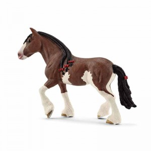Schleich Farm World Yegua Clydesdale